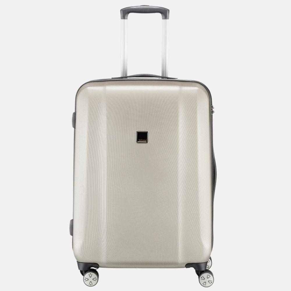 Titan koffer 4-wiel Xenon 67cm M Champagne