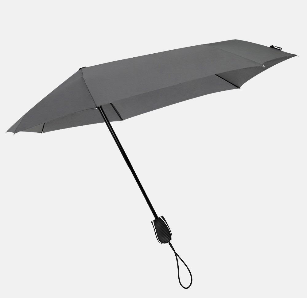 Impliva opvouwbare (storm)paraplu cool grey