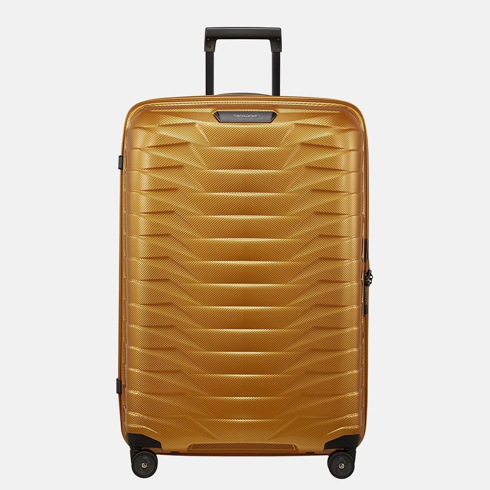 Samsonite Proxis spinner 75 cm honey gold