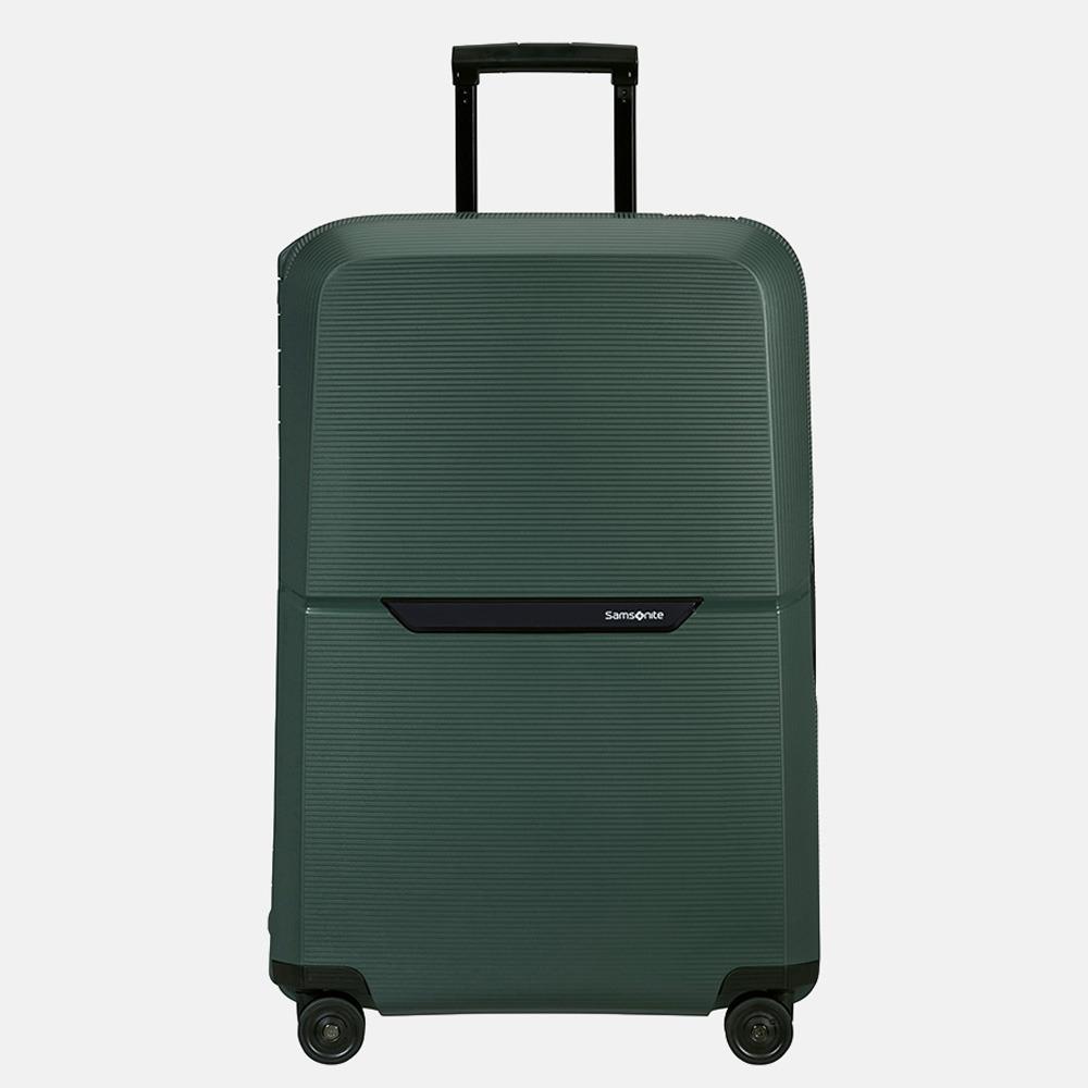 Samsonite Magnum ECO spinner koffer 75 cm forest green