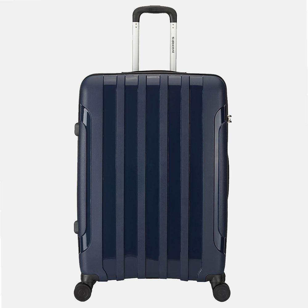 Decent X-Motion koffer 77 cm navy blauw