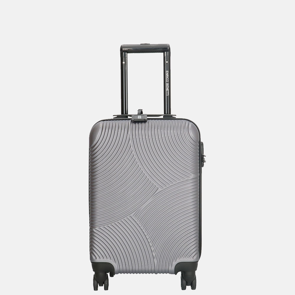 Enrico Benetti Louisville koffer 52 cm grey