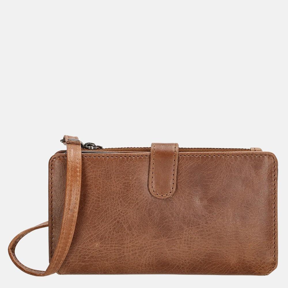 Micmacbags Porto portemonnee/telefoontasje brown