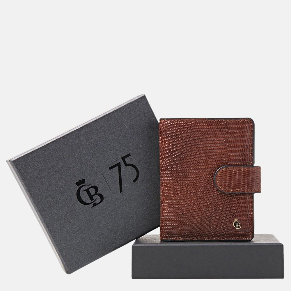 Castelijn & Beerens Giftbox Mini Wallet portemonnee cognac