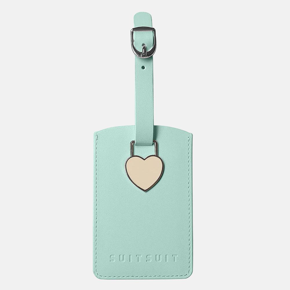 SUITSUIT Fabulous Fifties bagagelabel luminous mint