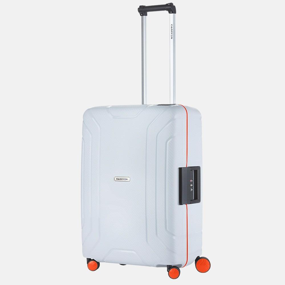 Carry On Steward koffer 65 cm light grey/orange