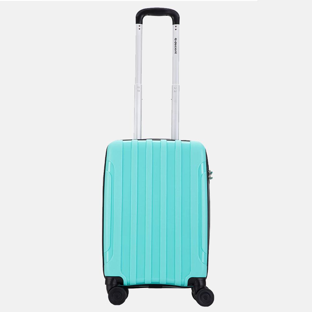 Decent X-Motion koffer 55 cm mintgroen