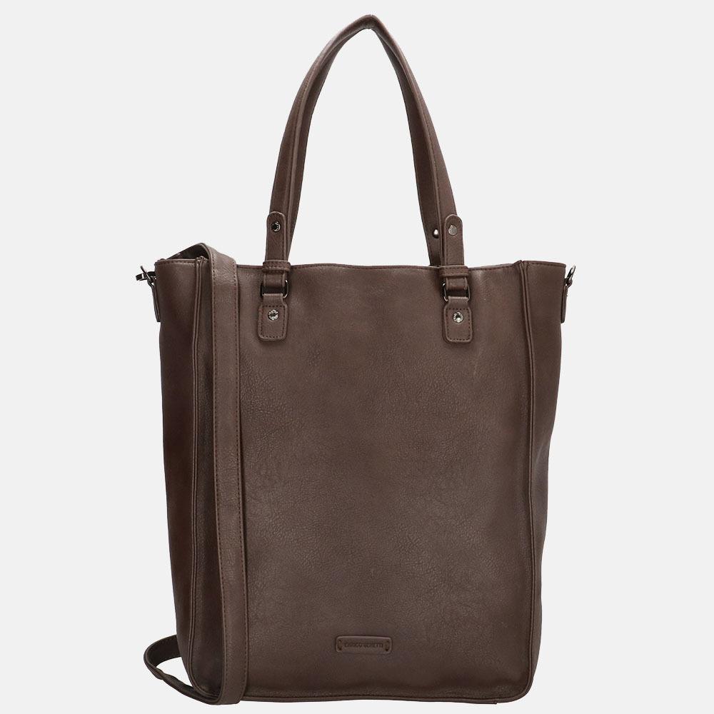 Enrico Benetti Caen shopper 17 inch brown