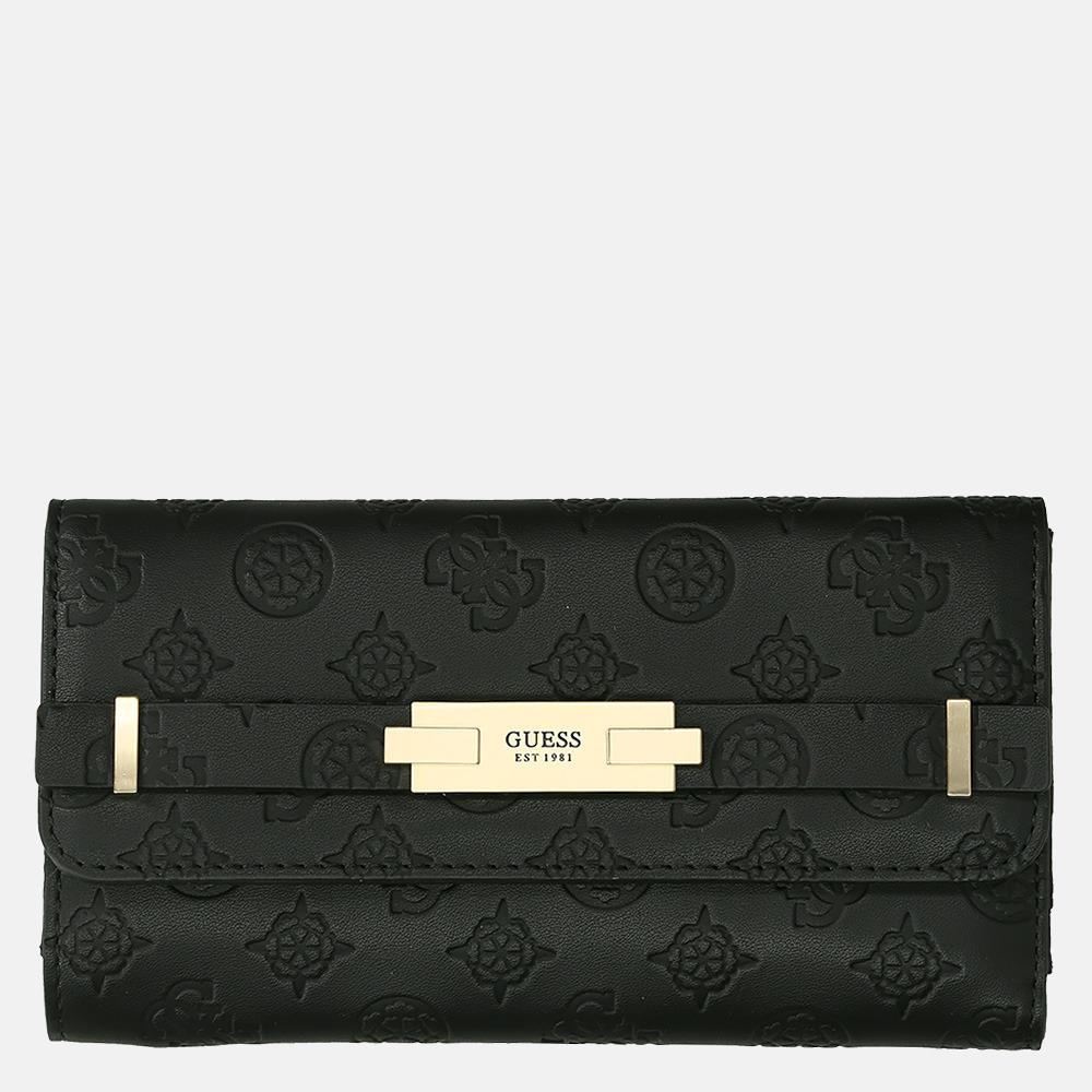 Guess Bea SLG trilfold portemonnee black