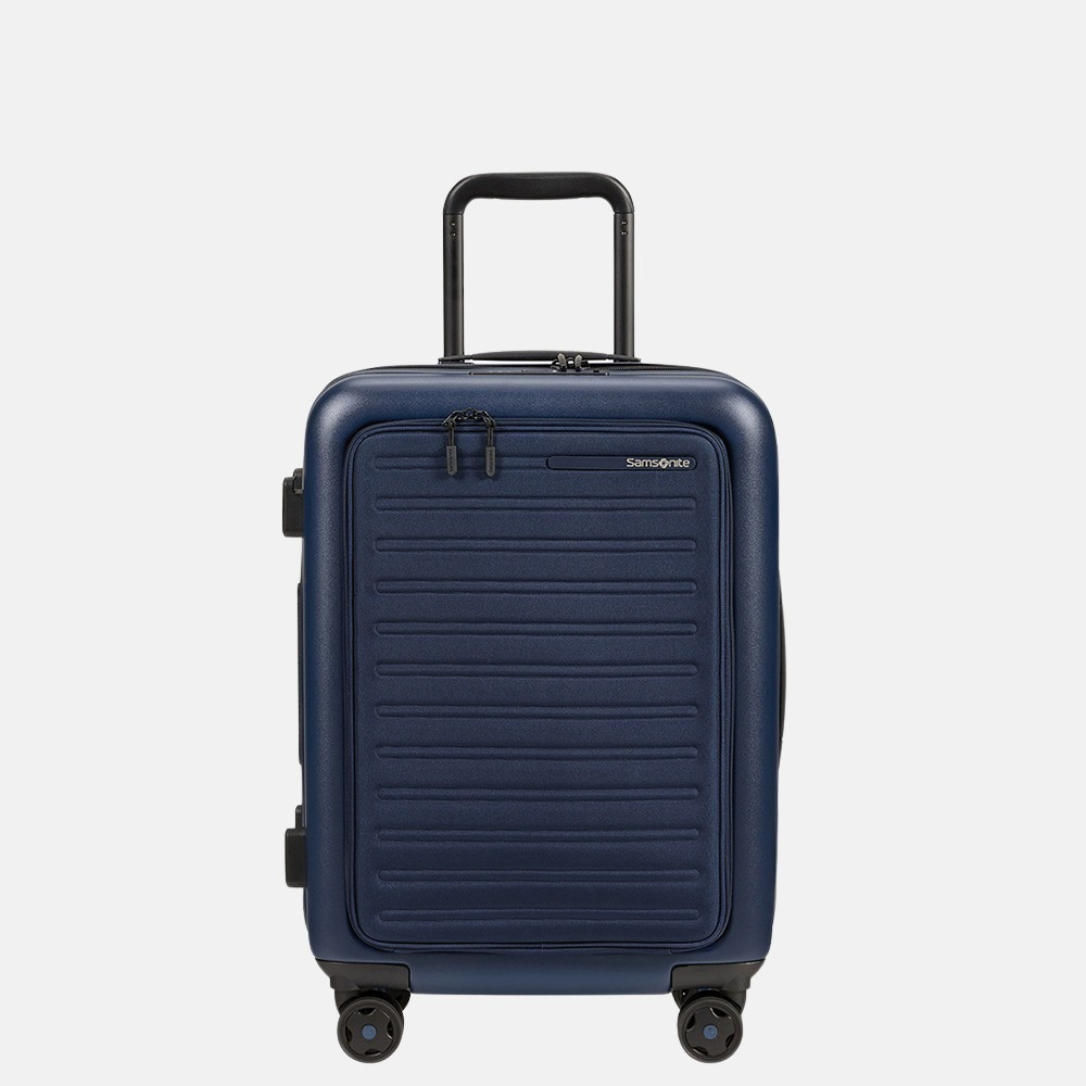 Samsonite StackD handbagage spinner 55 cm navy