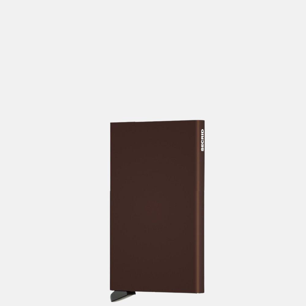 Secrid Cardprotector pasjeshouder brown