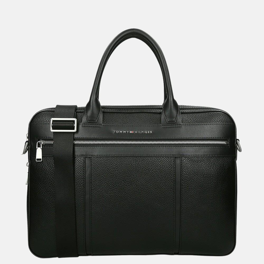 Tommy Hilfiger Downtown Slim laptoptas 15 inch black