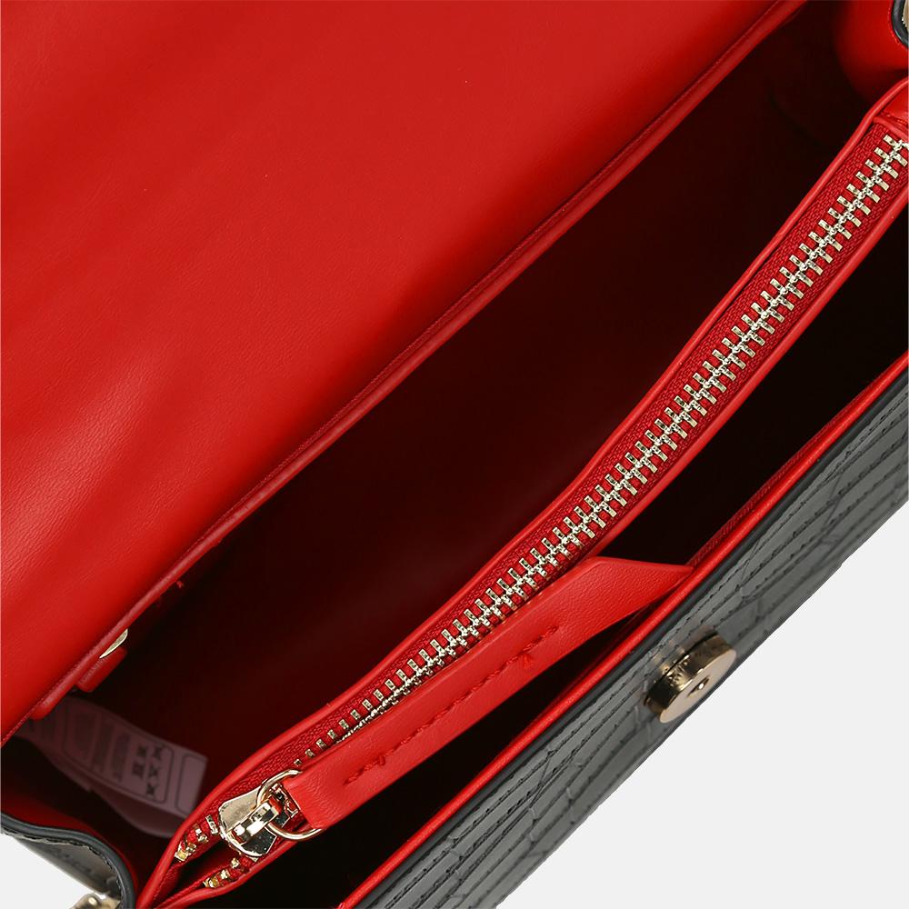 Valentino Bags JUNIPER crossbody tas nero/rosso