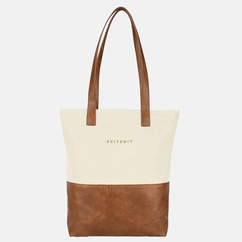 SUITSUIT Fab Seventies Upright bag shopper antique white