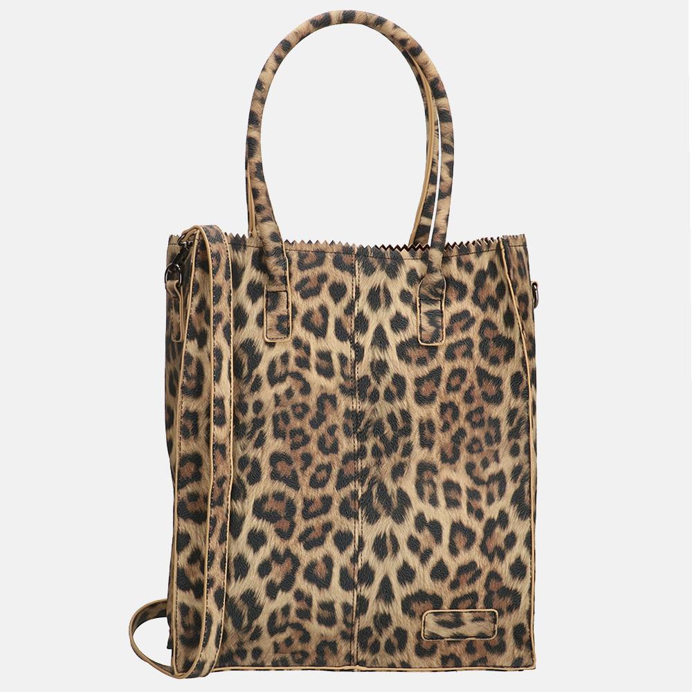 Zebra Trends Rosa shopper leopard