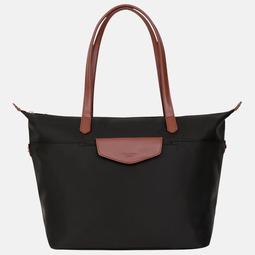 Hexagona shopper M black brown