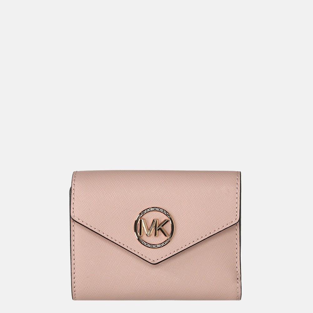Michael Kors Carmen portemonnee soft pink