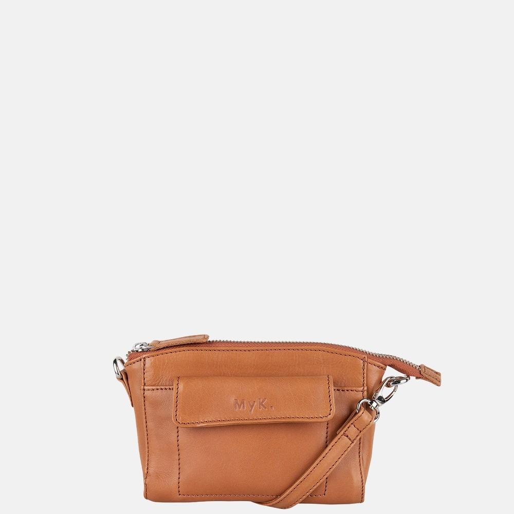 MyK Bag Carlton crossbody tas/heuptas caramel